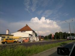Eisschirm bei Potsdam