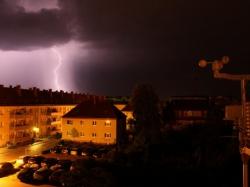 Blitzeinschlag in Brandenburg