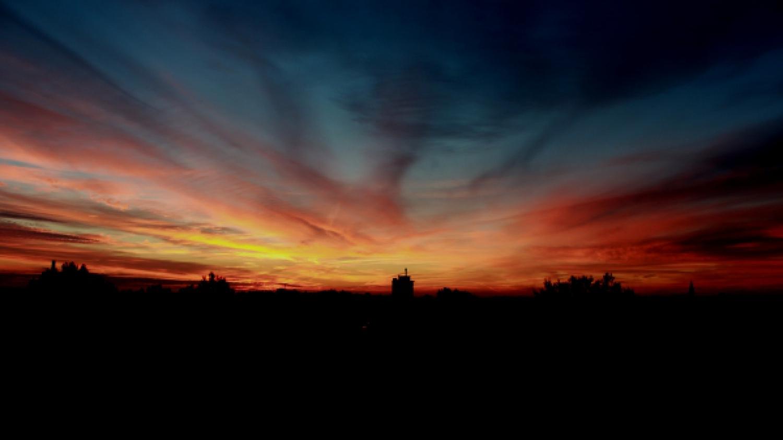 Sonnenaufgang in Brandenburg