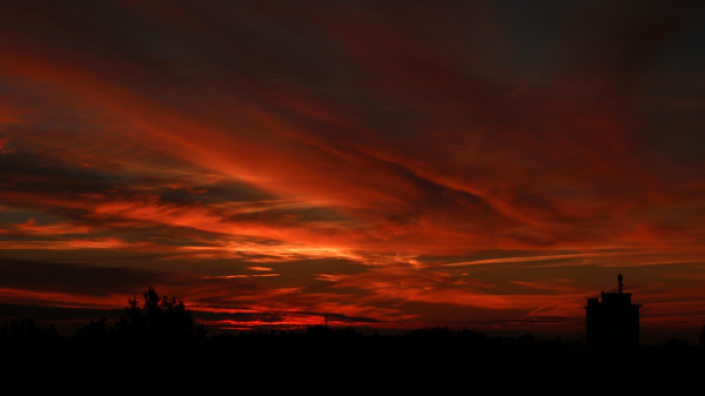 Sonnenaufgang im Herbst 2013