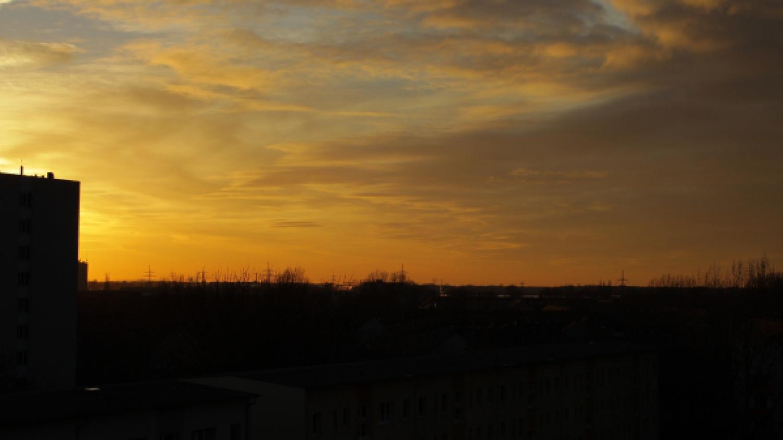 Sonnenaufgang am 06.02.2013