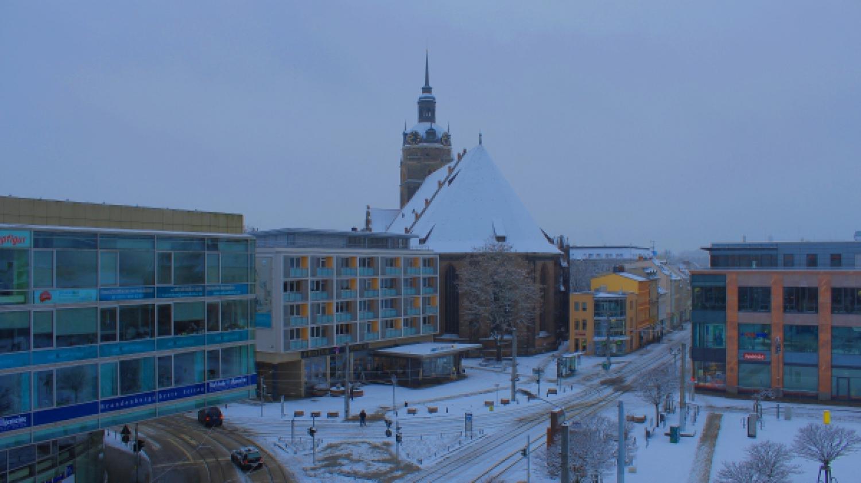 Brandenburg im Schneemantel