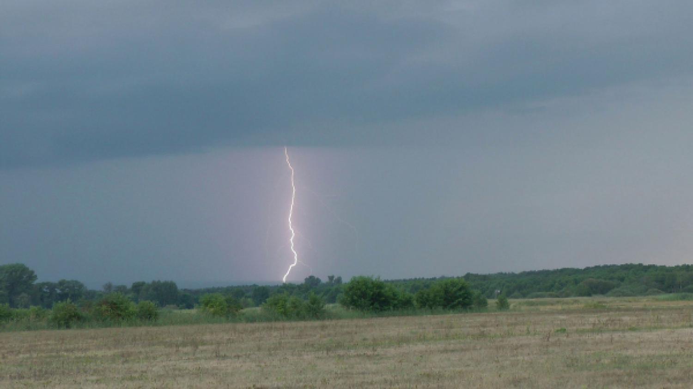Blitzeinschlag am