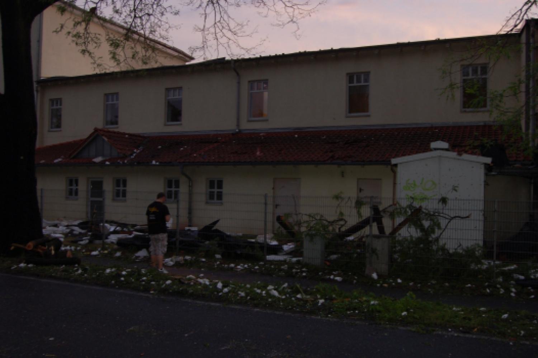 Tornadoschäden in Rathenow
