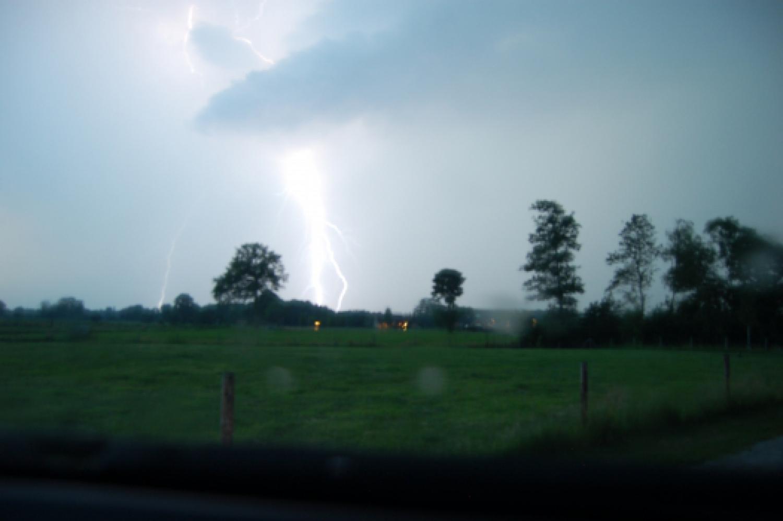 Blitzeinschlag bei Appeldorn